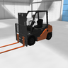 Toyota 8FD Counterbalance Forklift