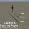 Loading and Securing Ropes