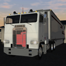 Freightliner FLA Cabover Semi