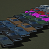 Stock Colors for Gavril Bandit