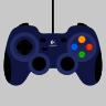 Logitech Gamepad F310 Input Map
