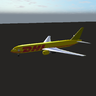 DHL Skin for the Boeing 767