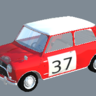 Austin Mini Paddy Hopkirk Rallye Skin